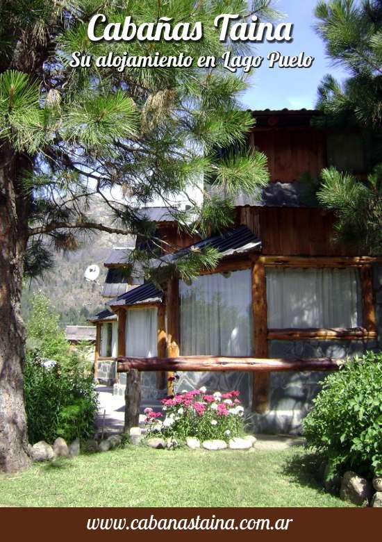 Alquiler de cabañas en Lago Puelo - Cabañas Taina